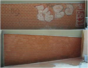 Graffiti_Brick_Wal before and after